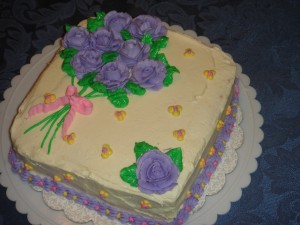 Easter Cake Creation